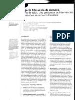 Projecte Riu. Una propuesta de intervención en salud en entornos vulnerables.