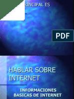 El Tema Principal Es Internet
