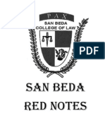 San Beda Red Notes Cover