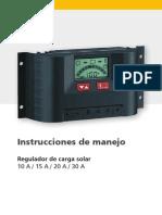 Steca PR10 30 Instruccion ES