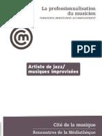 Prof. Du Musicien Jazz