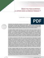 130417 - Débat politique européen - Quel espace dans les médias français - Arthur Colin.pdf