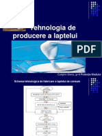 Tehnologia de Producere a Laptelui