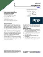 AD633 Analog Multiplier