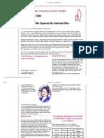 Newsletter 2001