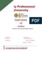 University Course Details Management System in c++