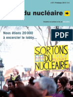 Revue Sortir du nucléaire 57