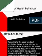 Models of Health Behavior