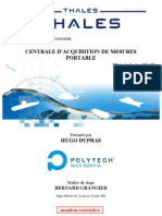 Rapport Technicien Dupras Thales 2009