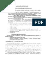 ASIGURĂRI DE PERSOANE