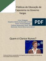 As Políticas Públicas de Educação de Gustavo Capanema