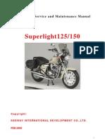 Manual Taller Superlight 125 CC
