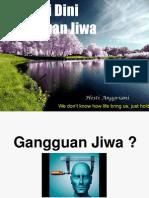 Deteksi Dini Gangguan Jiwa Bintek Perawat