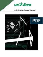 Irrigation Design Manual