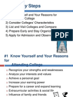Simplifiying the Admissions Process