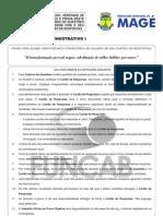 M01 v - Agente Administrativo I