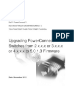 Upgrading PowerConnect Switches From Version 2.x.x.x or 3.x.x.x or 4.x.x.x to 5.0.1.3 Firmware