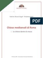 (Architettura Sacra) Angeli Fabrizio Alessio - Berti Elisabetta - Chiese Medievali Di Roma Dentro Le Mura