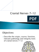 Cranial Nerves 7-12