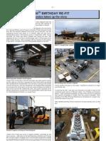 RNLI Magazine Article Page 1 Joseph Soar's refurbishment