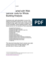 Getting Started With Green Building Studio Web Service 2012