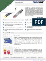 FlowLine Level Switch Sensors Switch-Tek LU10 Data Sheet