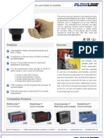 FlowLine Level Switch EchoPod DS14 Data Sheet