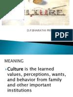 Culture in consumer behaviour
