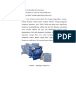 Kompressor berdasarkan Konstruksinya