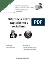 Diferencia Entre Capitalismo y Socialismo