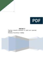 Proiect-Tipologia sistemelor informatice în cadrul unei organizaţii