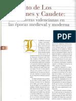 El Pleito de Los Alhorines y Caudete. (Las fronteras valencianas en las épocas medieval y moderna)