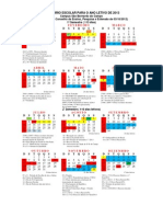 Calendário SBC 2013