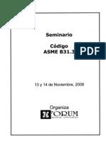 Seminario ASME B31 3