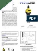 FlowLine Level Transmitter Ultrasonic EchoPod DL34 Quick Start