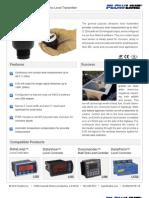 FlowLine Level Transmitter Ultrasonic EchoPod DL10 Data Sheet