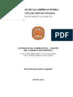 Ccontratacion Electronica Tesis Mexico Jurisdiccion y Competencia