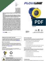 FlowLine Level Transmitter Ultrasonic EchoSafe XP88 XP89 Quick Start