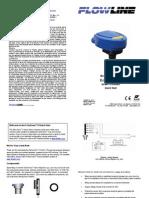FlowLine Level Transmitter Ultrasonic EchoSonic With Conduit LU27 Quick Start