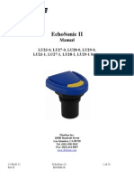 FlowLine Level Transmitter Ultrasonic EchoSonic With Cable LU23 LU27 LU28 LU29 Manual