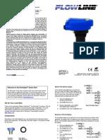 FlowLine Level Transmitter Ultrasonic EchoSpan LU81 LU83 LU84 Quick Start
