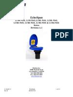 FlowLine Level Transmitter Ultrasonic EchoSpan LU80 LU81 LU83 LU84 Manual