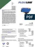 FlowLine Level Transmitter Ultrasonic EchoSpan LU80 Quick Start