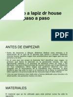 Retrato a Lapiz Dr House Paso a Paso