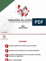 Rueda de Prensa - Industria - Agosto 14 2012