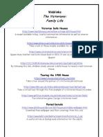 Victorian Family Life Weblinks