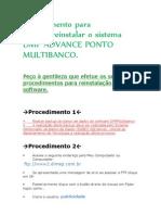 DMP Advance Multibanco