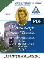 FOLLETO DIGITAL Homenaje Instrucciones Año XIII