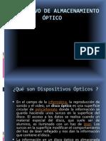 Dispositivo de Almacenamiento Optico