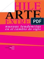 Chile Arte Extremo Sergio Rojas